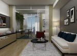 One bed_Livingroom