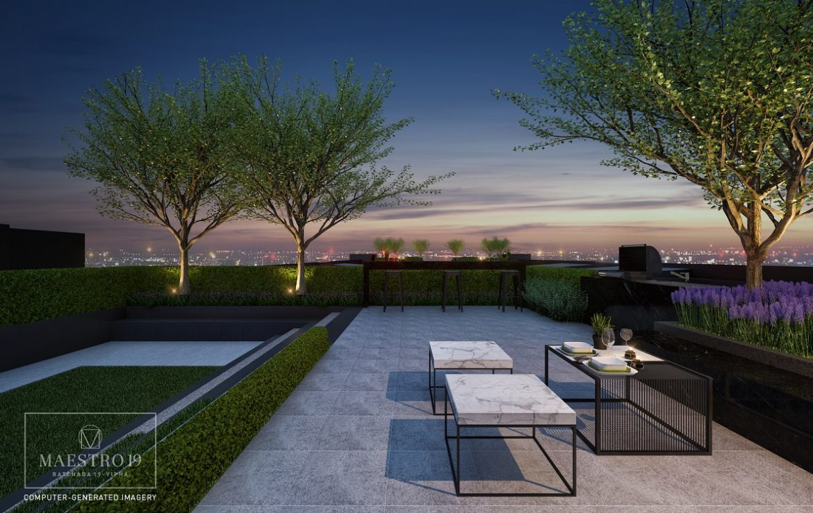 Maestro Condo Roof Top | Best Spot for BBQ