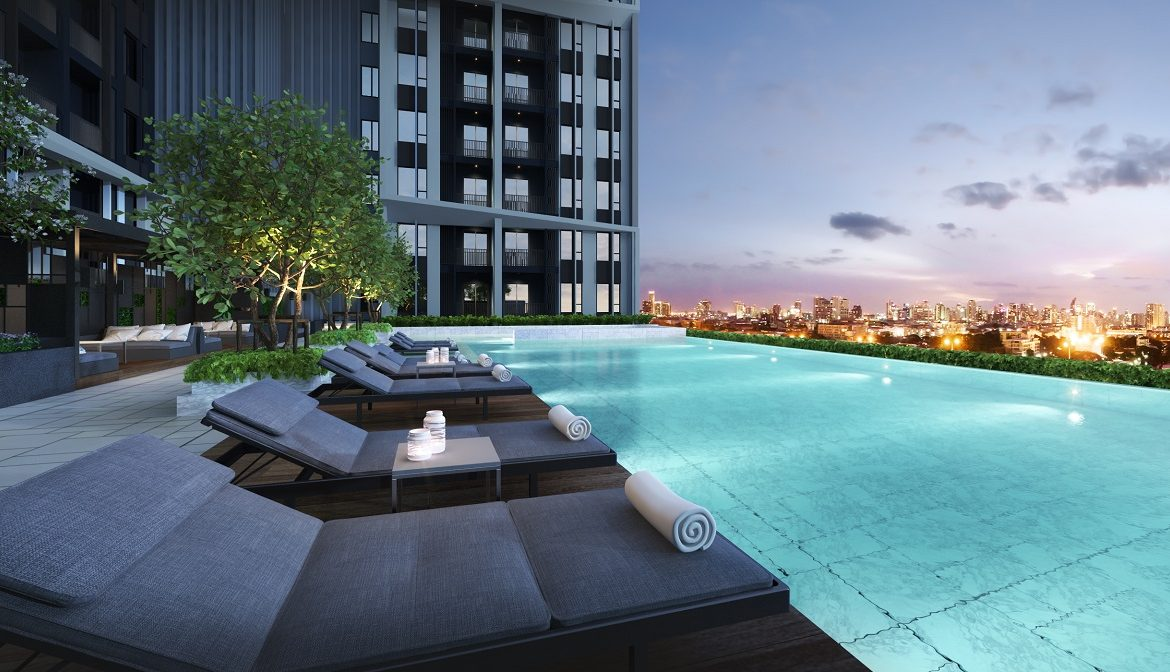Glorious veiws, Metris Rama9 Condo