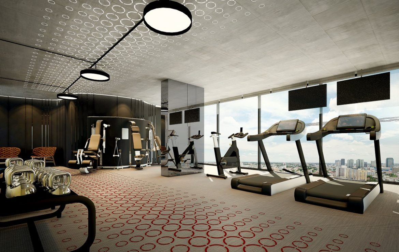 Fitness Center Metris Ladprao Condo Bangkok