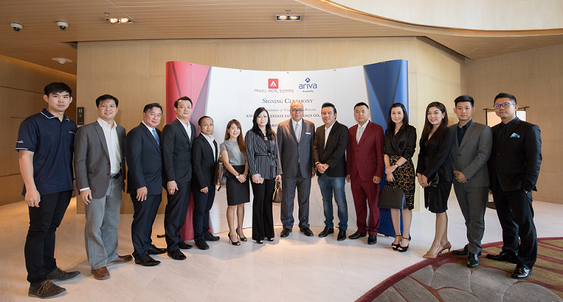 Angel Real Estate & Ariva Hospitality Thailand Signs the Official Partnership Agreement