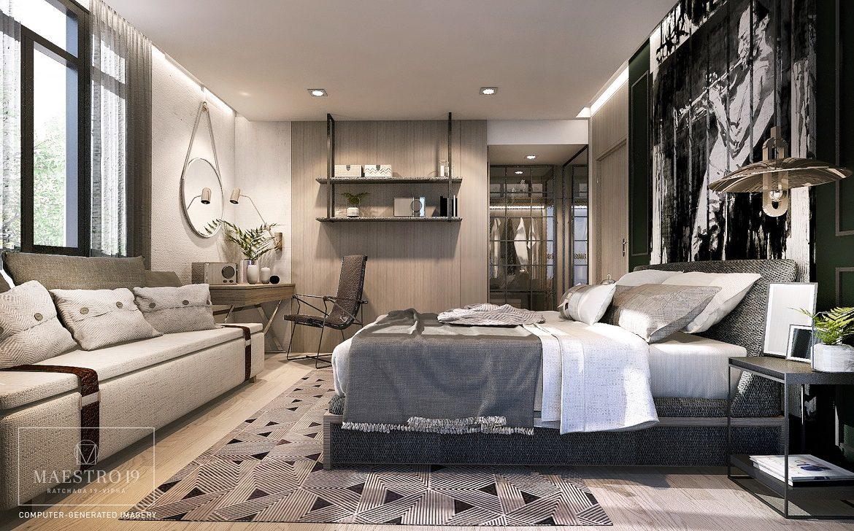 Maestro 19 - 2 Bed Room 56 Sq.m