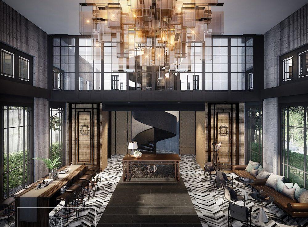 Maestro Condominium Luxurious Lobby