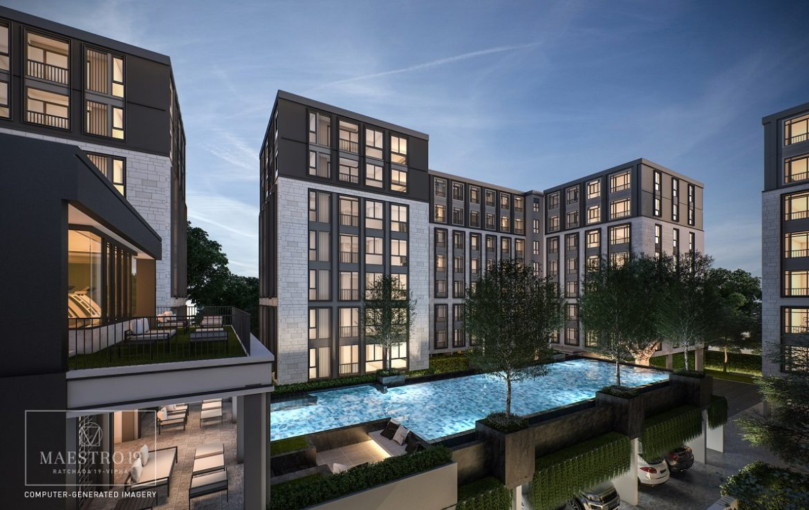 Maestro Apartments with Pool Views