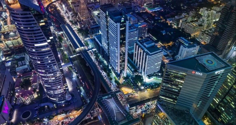 Analysis of Bangkok's Expanding Central Business District (The CBD)